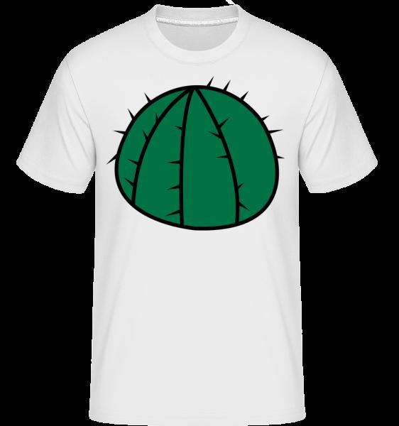 Cactus Comic -  T-Shirt Shirtinator homme - Blanc - Devant