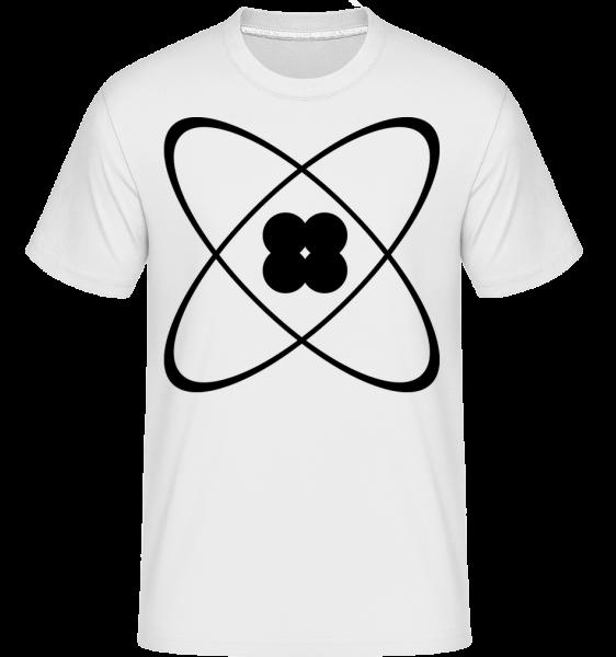 Symbole D'Un Atome - T-Shirt Shirtinator homme - Blanc - Devant