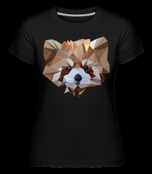 Polygon Porter - T-shirt Shirtinator femme - Noir - Devant
