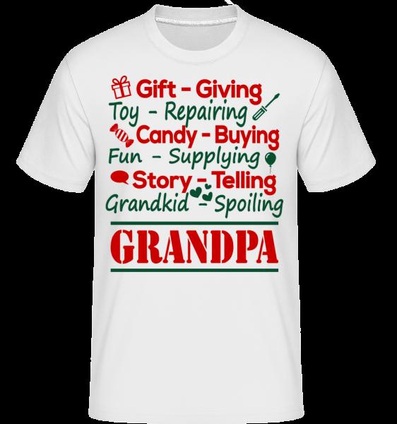 The Perfect Grandpa -  T-Shirt Shirtinator homme - Blanc - Devant