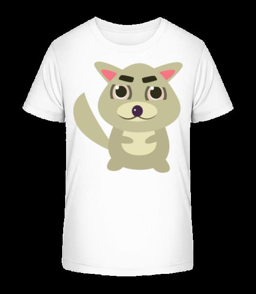 Raton Laveur Comic - T-shirt bio Premium Enfant - Blanc - Devant