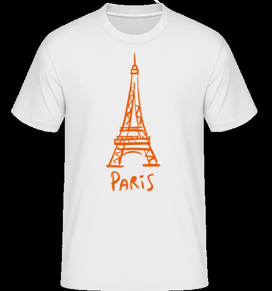 Signe De Paris - T-Shirt Shirtinator homme - Blanc - Devant
