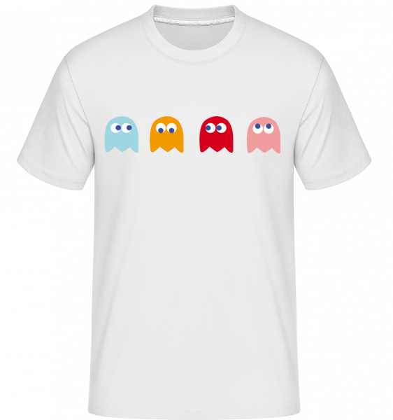 Jeu D'Ordinateur Monstre - T-Shirt Shirtinator homme - Blanc - Devant