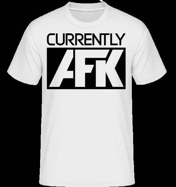 Currently AFK -  T-Shirt Shirtinator homme - Blanc - Devant