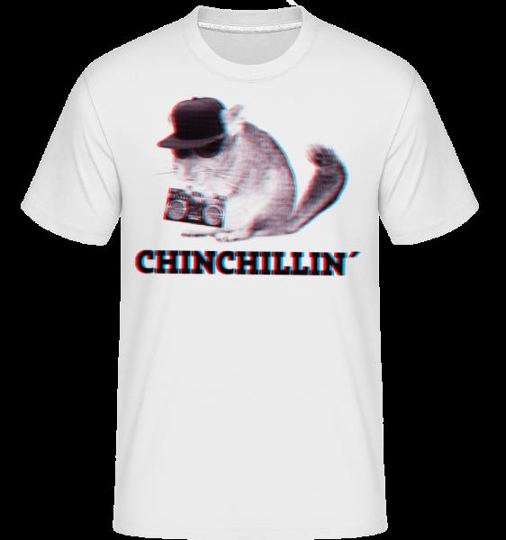 ChinChillin' -  T-Shirt Shirtinator homme - Blanc - Devant