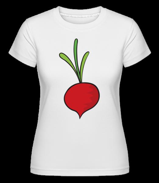 Radis Comic - T-shirt Shirtinator femme - Blanc - Devant