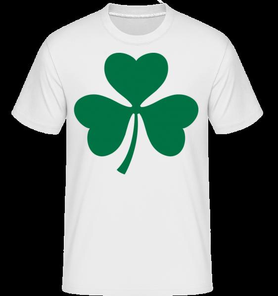 Ireland Cloverleaf - T-Shirt Shirtinator homme - Blanc - Devant