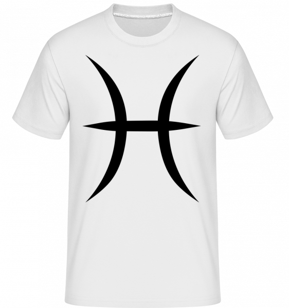 Signe De Poissons - T-Shirt Shirtinator homme - Blanc - Devant