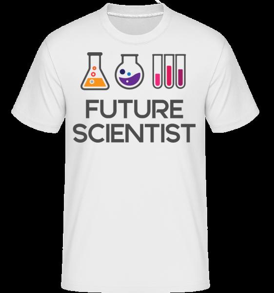 Future Scientist - T-Shirt Shirtinator homme - Blanc - Devant