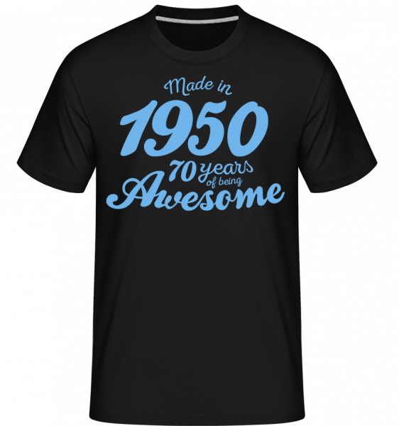 Made In 1950 70 Years - T-Shirt Shirtinator homme - Noir - Devant
