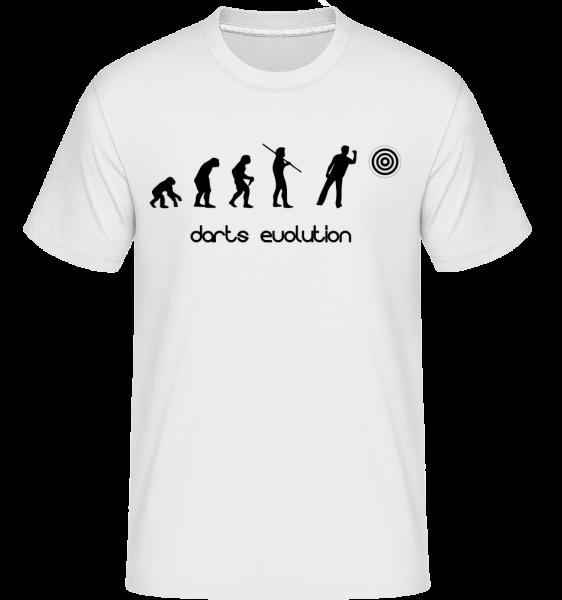 Darts Evolution - T-Shirt Shirtinator homme - Blanc - Devant