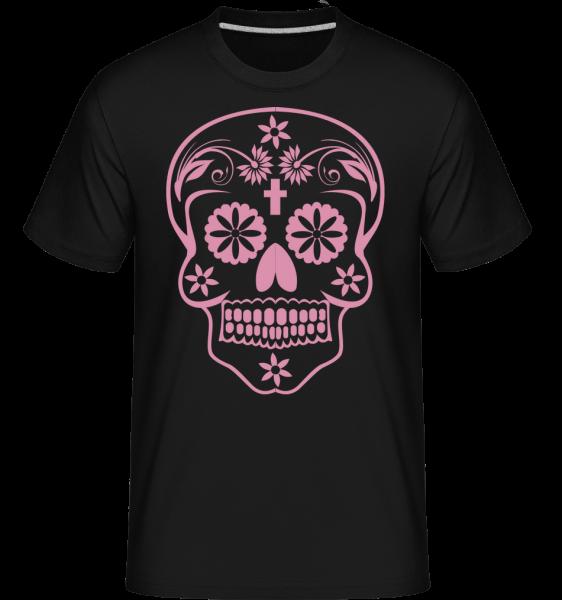 Día de los Muertos Godille - T-Shirt Shirtinator homme - Noir - Devant