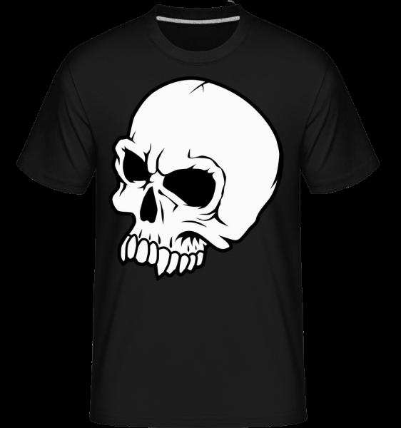 Tête De Mort - T-Shirt Shirtinator homme - Noir - Devant