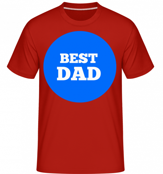 Best Dad - T-Shirt Shirtinator homme - Rouge - Devant