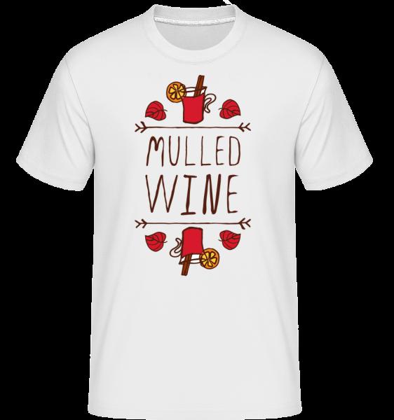 Mulled Wine Sign - T-Shirt Shirtinator homme - Blanc - Devant