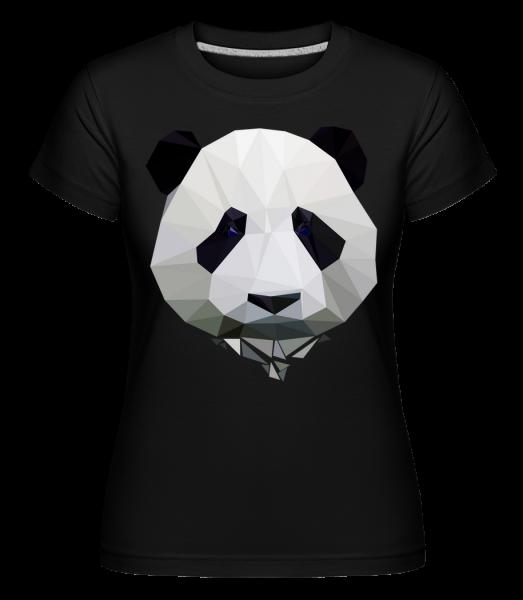 Polygon Panda - T-shirt Shirtinator femme - Noir - Devant