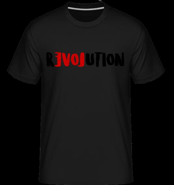 Revolution -  T-Shirt Shirtinator homme - Noir - Devant