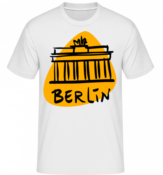 Signe De Berlin -  T-Shirt Shirtinator homme - Blanc - Devant