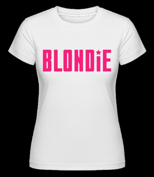 Blondie - T-shirt Shirtinator femme - Blanc - Devant