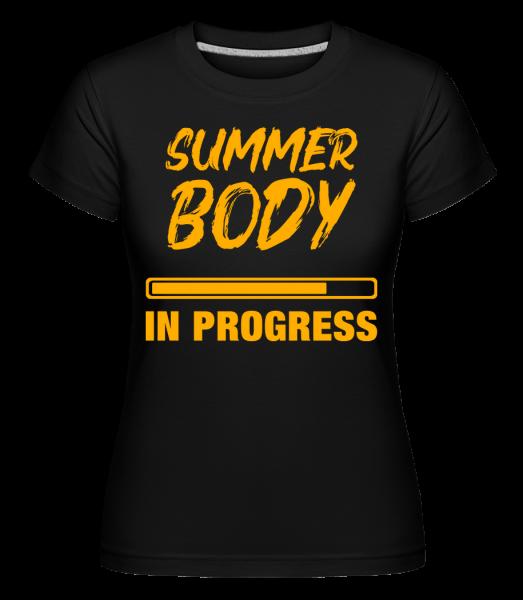 Summer Body in Progress - T-shirt Shirtinator femme - Noir - Devant