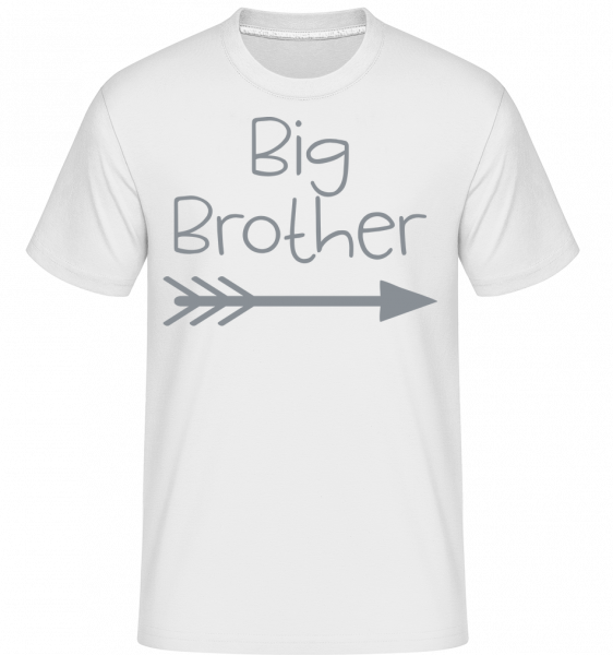 Big Brother -  T-Shirt Shirtinator homme - Blanc - Devant
