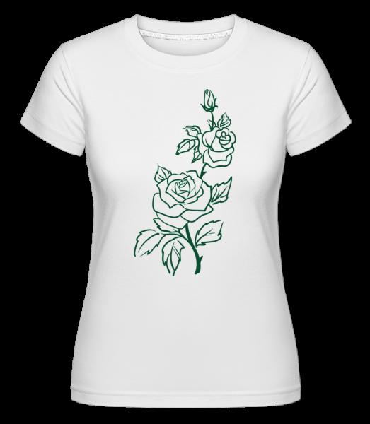Rose Comic - T-shirt Shirtinator femme - Blanc - Devant