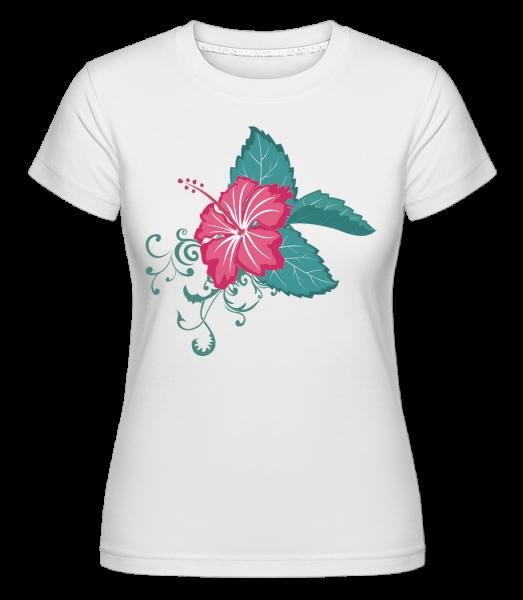 Flower Comic - T-shirt Shirtinator femme - Blanc - Devant
