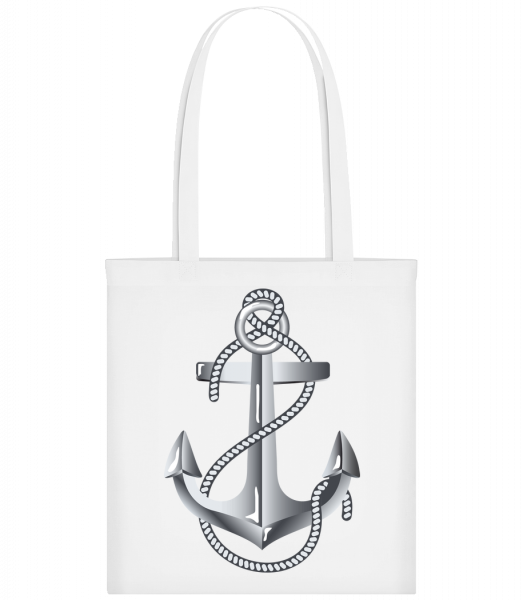 Anchor Rope Comic Silver - Sac tote - Blanc - Devant