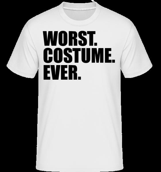 Worst. Costume. Ever. - T-Shirt Shirtinator homme - Blanc - Devant