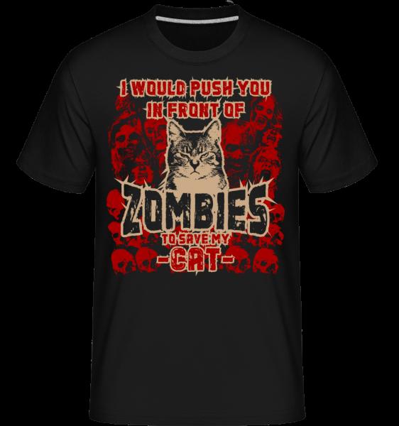 Save My Cat - T-Shirt Shirtinator homme - Noir - Devant
