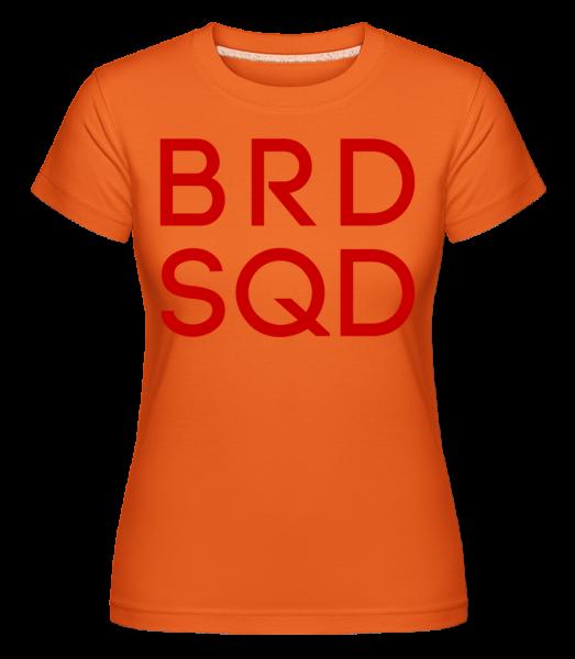 Bride Squad -  T-shirt Shirtinator femme - Orange - Devant