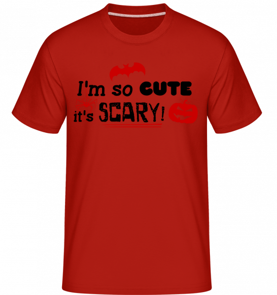 So Cute It's Scary - T-Shirt Shirtinator homme - Rouge - Devant