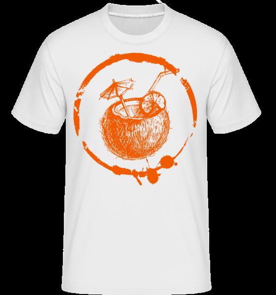 Holidays Cocktail -  T-Shirt Shirtinator homme - Blanc - Devant