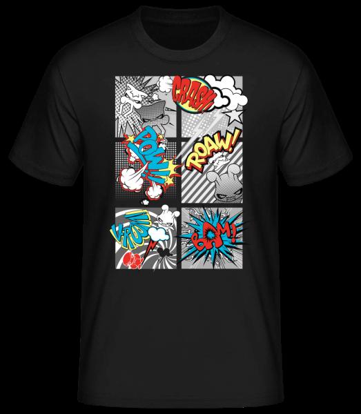 Gobelins Bande Dessinée - T-shirt standard homme - Noir - Devant