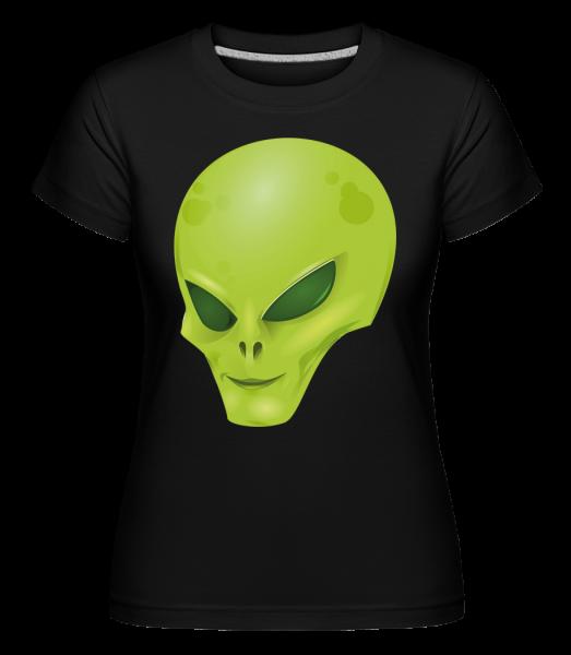 Tête D'Alien - T-shirt Shirtinator femme - Noir - Devant