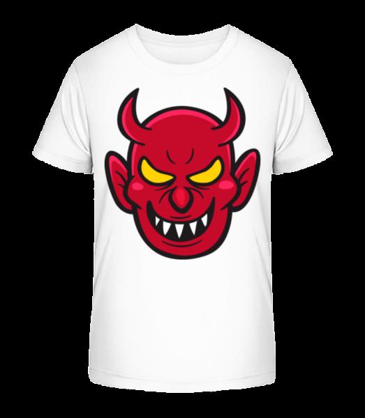 Méchant Diable - T-shirt bio Premium Enfant - Blanc - Devant