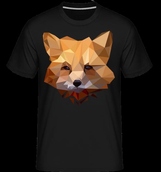 Polygon Renard - T-Shirt Shirtinator homme - Noir - Devant