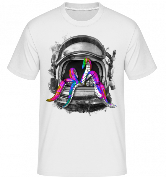 Casque De Calmar - T-Shirt Shirtinator homme - Blanc - Devant