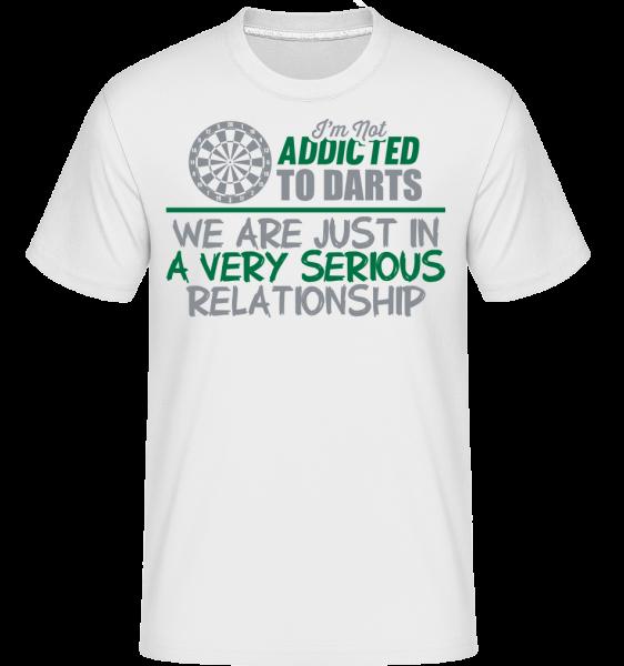 Darts Relationship -  T-Shirt Shirtinator homme - Blanc - Devant