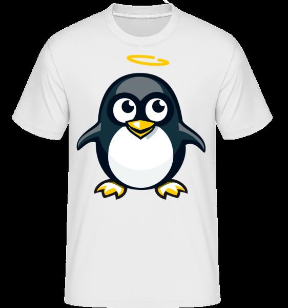 Angel Penguin - T-Shirt Shirtinator homme - Blanc - Devant