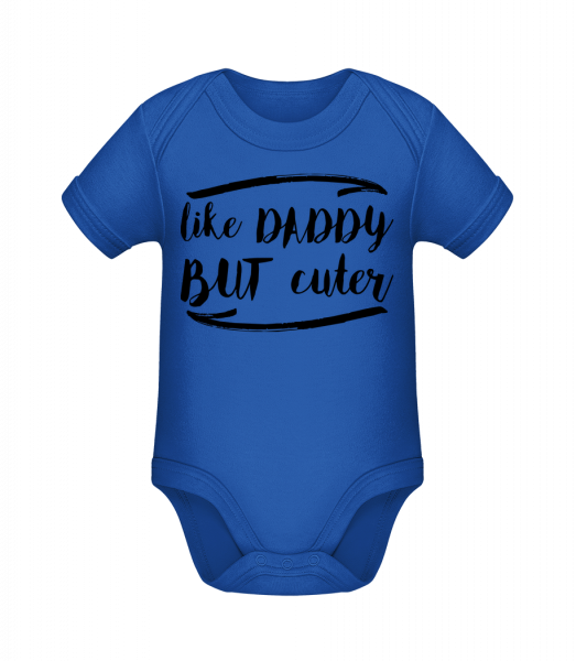 Like Daddy But Cuter - Body manches courtes bio - 12-18 mois - Devant