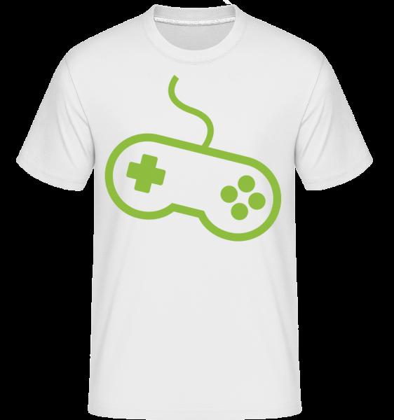 Console De Jeu De Contrôleur - T-Shirt Shirtinator homme - Blanc - Devant