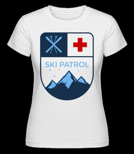 Skipatrol Icon - T-shirt Shirtinator femme - Blanc - Devant