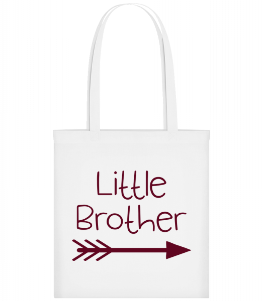Little Brother - Sac tote - Blanc - Devant
