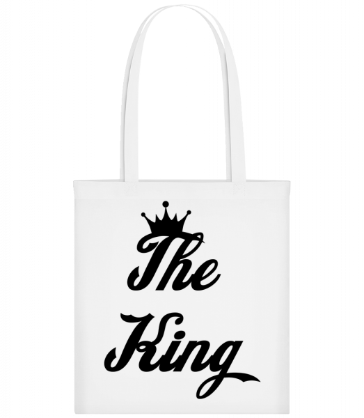 The King - Sac tote - Blanc - Devant
