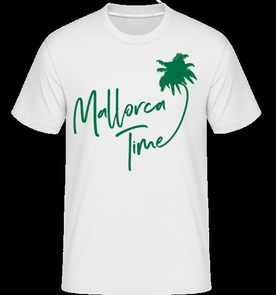 Mallorca Time - T-Shirt Shirtinator homme - Blanc - Devant