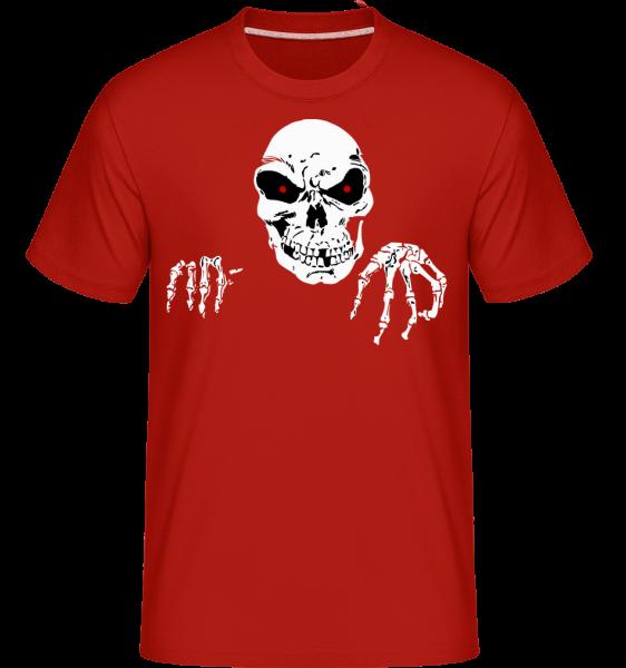 Mort Terrifiante - T-Shirt Shirtinator homme - Rouge - Devant