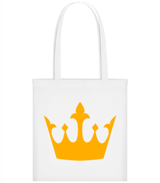 Queen's Crown Yellow - Sac tote - Blanc - Devant