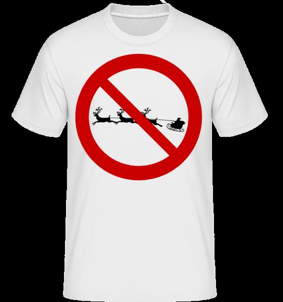 Anti Christmas - T-Shirt Shirtinator homme - Blanc - Devant