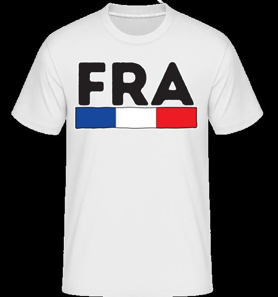 Football France -  T-Shirt Shirtinator homme - Blanc - Devant